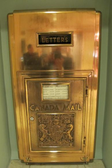Beautiful Brass Canada Post Mailbox